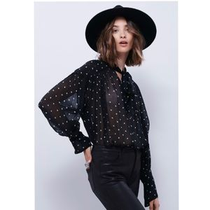 Free People Star Point Blouse